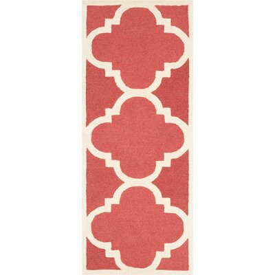 Martins Rust/Ivory Area Rug