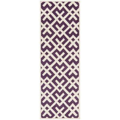 Wilkin Purple / Ivory Rug