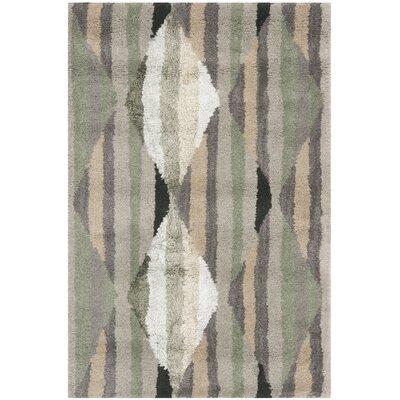 Wilkin Grey / Multi Rug Rug Size: 4 x 6