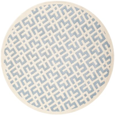 Wilkin Blue / Ivory Rug Rug Size: Rectangle 2 x 3