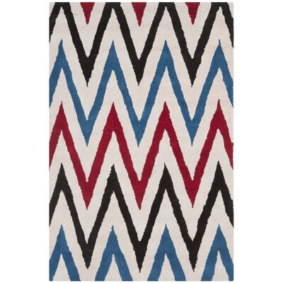 Wilkin Ivory / Multi Rug Rug Size: Rectangle 8 x 10
