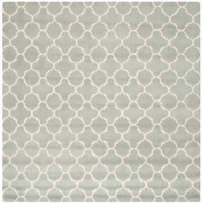 Wilkin Grey / Ivory Rug Rug Size: Square 89