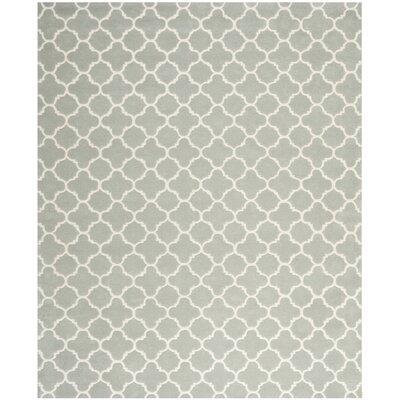 Wilkin Grey / Ivory Rug Rug Size: 76 x 96