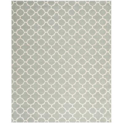 Wilkin Grey / Ivory Rug Rug Size: 89 x 12