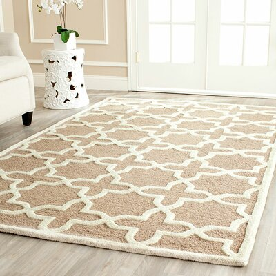 Martins Beige/Ivory Area Rug II Rug Size: Rectangle 10 x 14