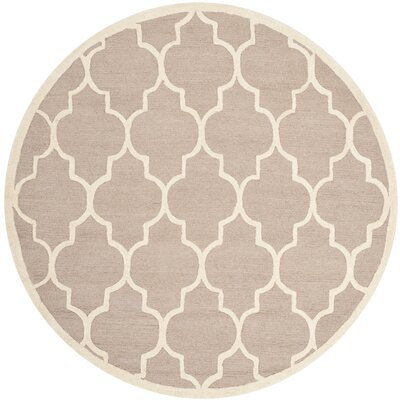 Charlenne Area Rug Rug Size: Round 4