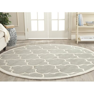 Wilkin Moroccan Rug Rug Size: Round 7
