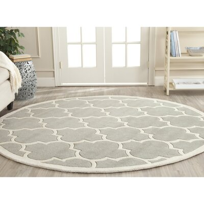 Wilkin Moroccan Rug Rug Size: Round 4