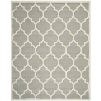 Wilkin Gray / Ivory Moroccan Rug Rug Size: 8 x 10