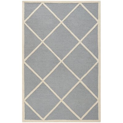 Martins Gray / Ivory Area Rug Rug Size: 5 x 8