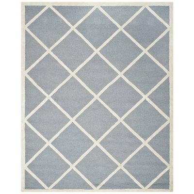 Martins Gray / Ivory Area Rug Rug Size: 9 x 12