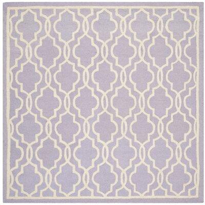 Martins Lavender   Area Rug Rug Size: Square 6