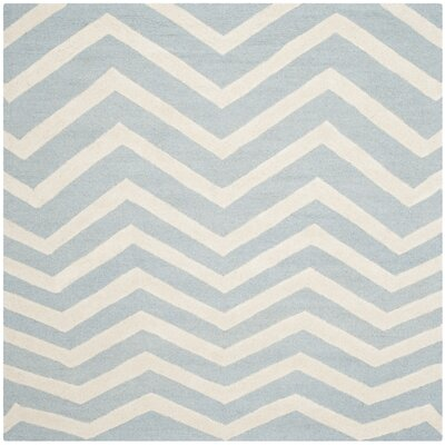 Martins Blue Area Rug Rug Size: Square 6