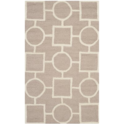 Martins Beige Area Rug Rug Size: Rectangle 2 x 3