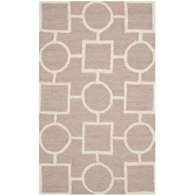Martins Beige Area Rug Rug Size: Rectangle 3 x 5