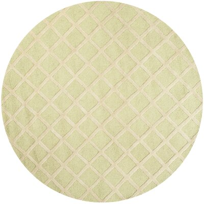 Martins Light Green & Ivory Area Rug Rug Size: Rectangle 5 x 8
