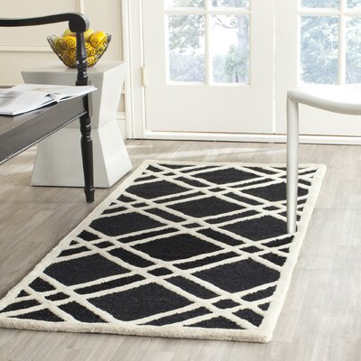 Martins Hand-Tufted Wool Area Rug Rug Size: Runner 26 x 6