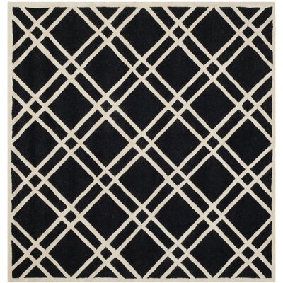 Martins Hand-Tufted Wool Area Rug Rug Size: Square 6