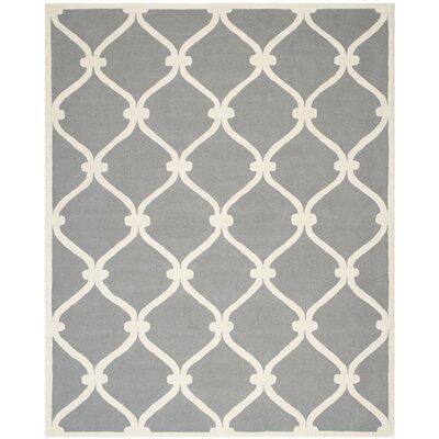 Martins Dark Grey Area Rug