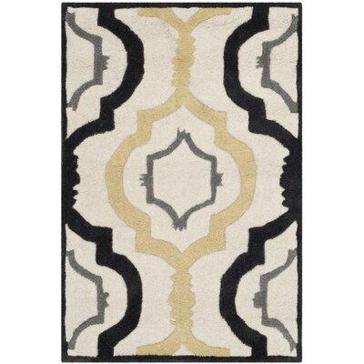 Wilkin Ivory / Multi Moroccan Rug Rug Size: 2 x 3