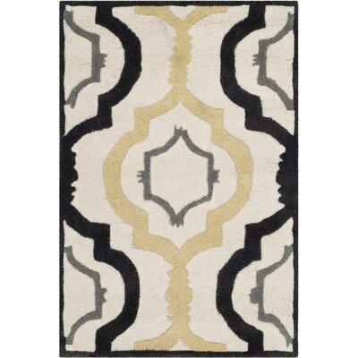 Wilkin Ivory / Multi Moroccan Rug Rug Size: 6 x 9