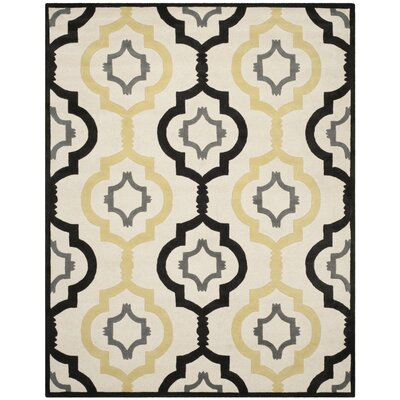 Wilkin Ivory / Multi Moroccan Rug Rug Size: 89 x 12