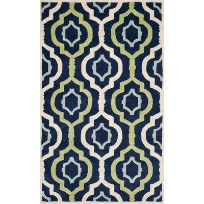 Wilkin Dark Blue / Multi Moroccan Rug Rug Size: 8'9