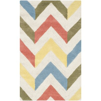 Martins Chevron Indoor / Outdoor Area Rug Rug Size: Rectangle 26 x 4
