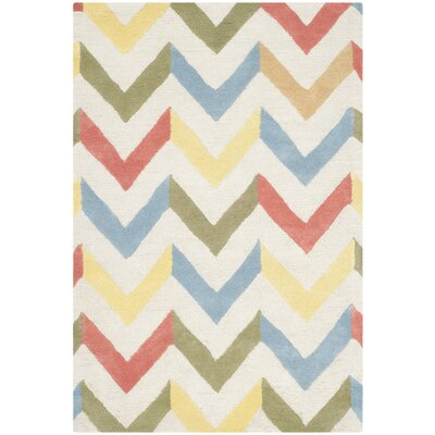Martins Chevron Indoor / Outdoor Area Rug Rug Size: Rectangle 3 x 5