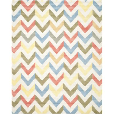 Martins Chevron Indoor / Outdoor Area Rug Rug Size: 9 x 12