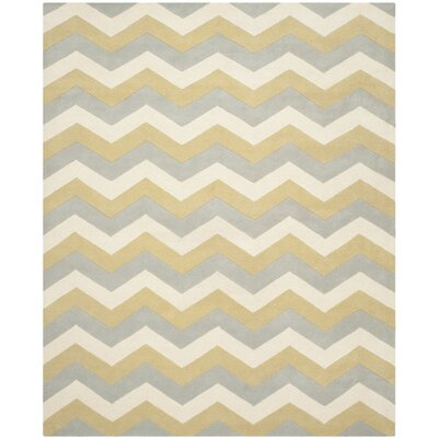 Wilkin Chevron Contemporary Area Rug Rug Size: 9 x 12