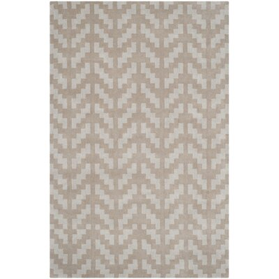 Martins Grey / Taupe Area Rug Rug Size: 5 x 7