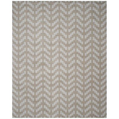 Martins Grey / Taupe Area Rug Rug Size: 8 x 10