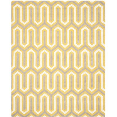 Martins Gold / Light Brown Area Rug Rug Size: 8 x 10
