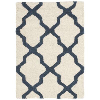 Charlenne Wool Area Rug Rug Size: 2 x 3