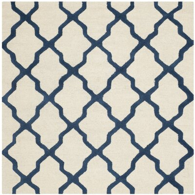 Charlenne Wool Area Rug Rug Size: Square 6