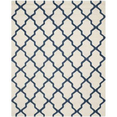 Charlenne Wool Area Rug Rug Size: 8 x 10