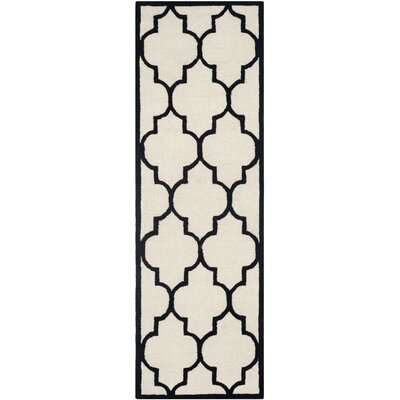 Charlenne Hand-Tufted Area Rug Rug Size: Runner 26 x 6