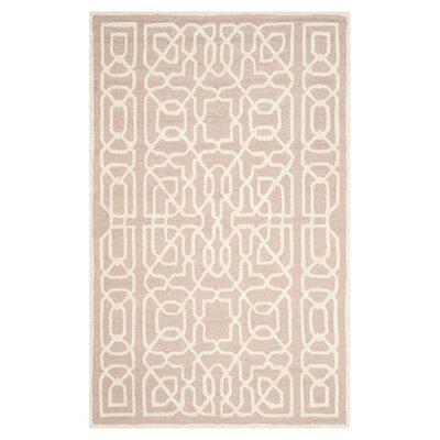 Martins Beige / Ivory Area Rug Rug Size: Rectangle 8 x 10