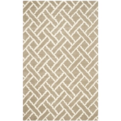 Wilkin Beige / Ivory Area Rug Rug Size: 3 x 5
