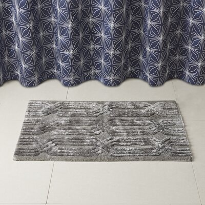 Lang Bath Rug Size: 20 x 30, Color: Gray