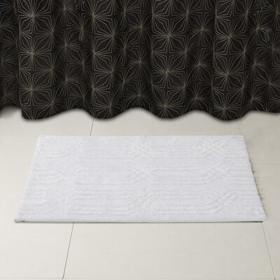 Lang Bath Rug Size: 24 x 40, Color: White