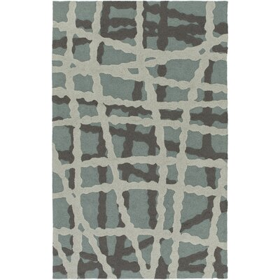 Mcglynn Moss/Light Gray Indoor/Outdoor  Area Rug Rug Size: 4 x 6