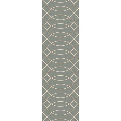 Mcglynn Beige/Light Gray Indoor/Outdoor Area Rug Rug Size: Runner 26 x 8