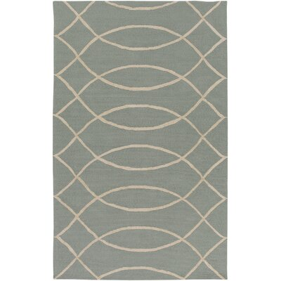 Mcglynn Beige/Light Gray Indoor/Outdoor Area Rug Rug Size: Rectangle 5 x 76