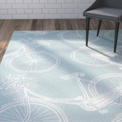 Handmade Indoor/Outdoor Area Rug Rug Size: Rectangle 76 x 9