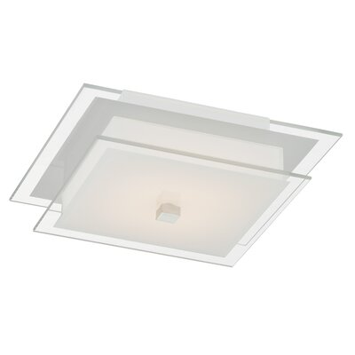 Scarberry 1-Light Semi Flush Mount