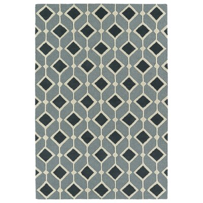Serpens Handmade Blue Area Rug Rug Size: Rectangle 8 x 10