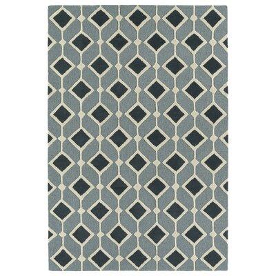 Serpens Handmade Blue Area Rug Rug Size: Rectangle 5 x 7