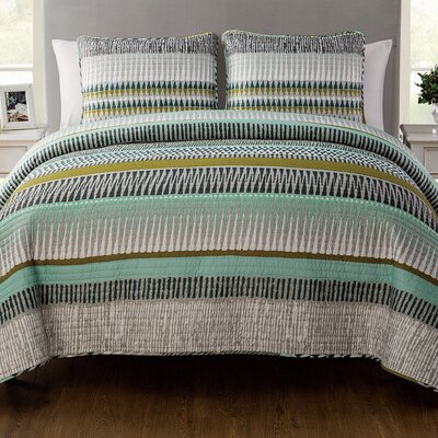 Scaife 3 Piece Quilt Set Size: King